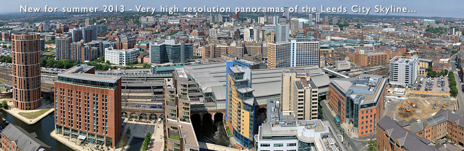 Leeds City Skyline Panoramas